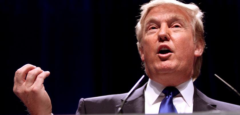 Sulla strada con Donald Trump