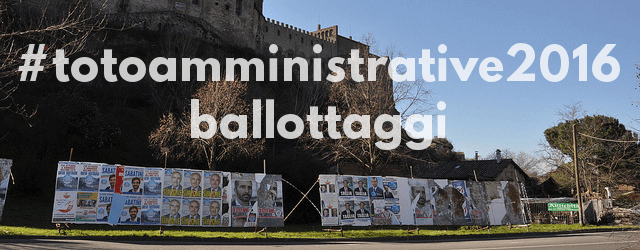 Banner Totoamministrative 2016