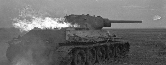 Russland, Brennender T-34